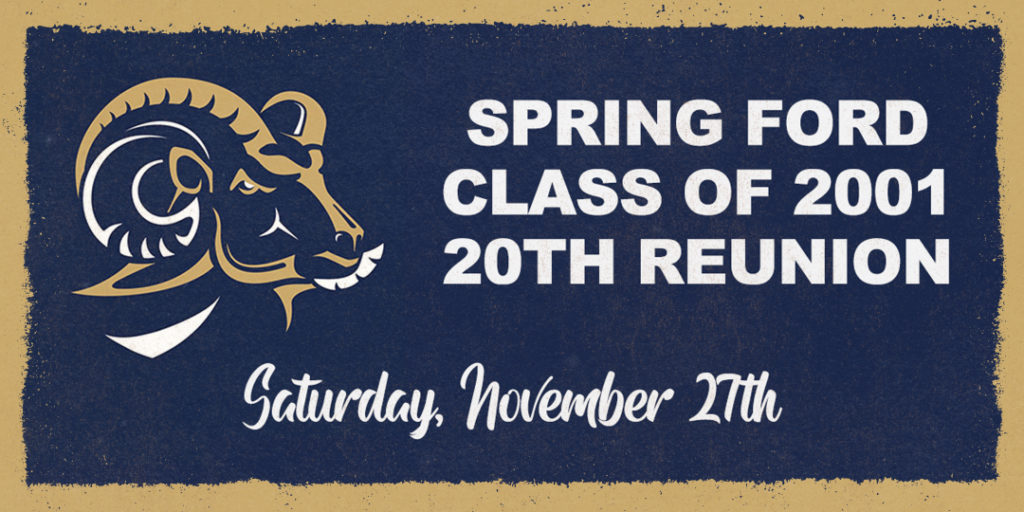 Spring-Ford Class of 2001 - 20th Reunion